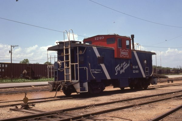 Caboose 1240 at Mobile, Alabama in June 1975