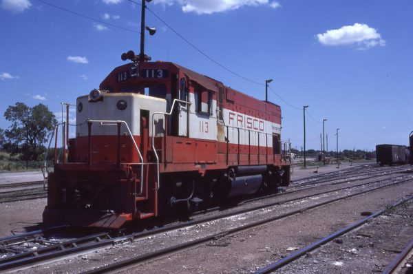 GP15-1 113 at Oklahoma City, Oklahoma in August 1978 (P.H. Daily)