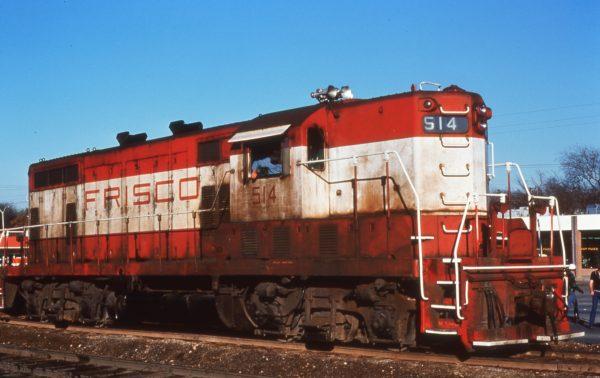 GP7 514 (location unknown) in 1978 (Brent MacGregor)