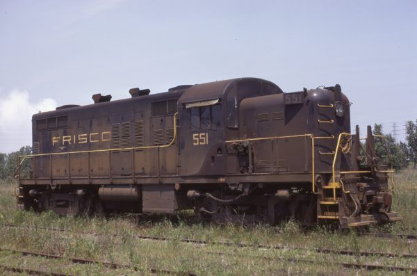 RS-2 551 at Gary, Indiana on July 8, 1972