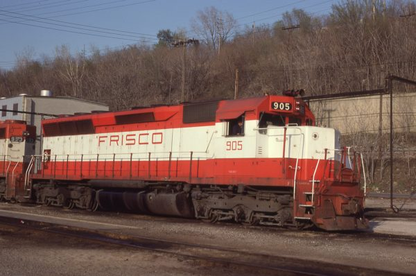 SD45 905 at Kansas City, Missouri on April 19, 1980 (J.C. Benson)