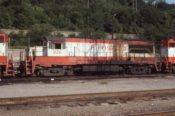 U25B 826 at Kansas City, Missouri on August 21, 1978