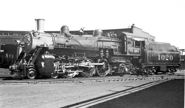 4-6-2 1020 at Lindenwood Yard in St. Louis, Missouri in 1938