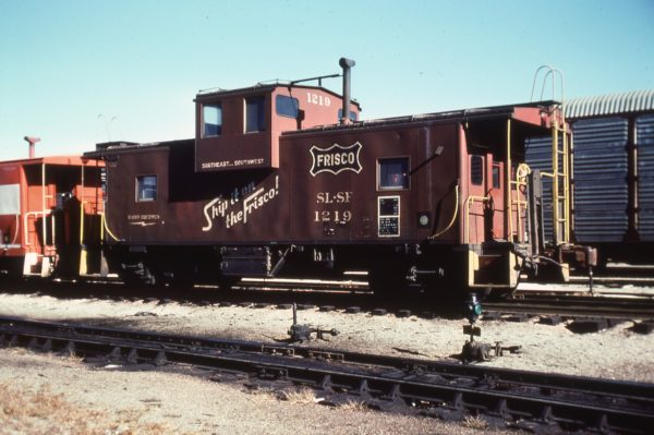 Caboose 1219 (date and location unknown)