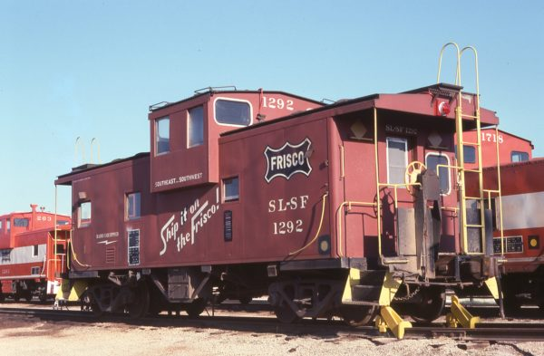 Caboose 1292 (location unknown) in August 1978
