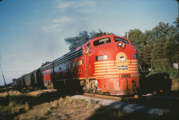 E8A 2008 (Messenger) on The Meteor at Webster Groves, Missouri in July 1960 (Al Chione)