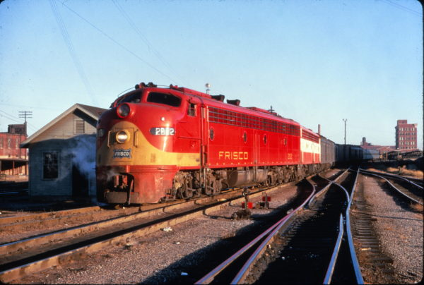 E8A 2012 (formerly Flying Ebony) on the Kansas City-Florida Special at Memphis, Tennessee on November 8, 1967 (Al Chione)
