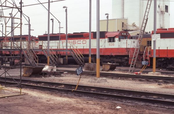 SD45 939 (location unknown) in June 1977