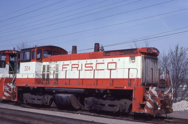 SW1500 324 at St. Louis, Missouri on April 20, 1980 (J.C. Benson)