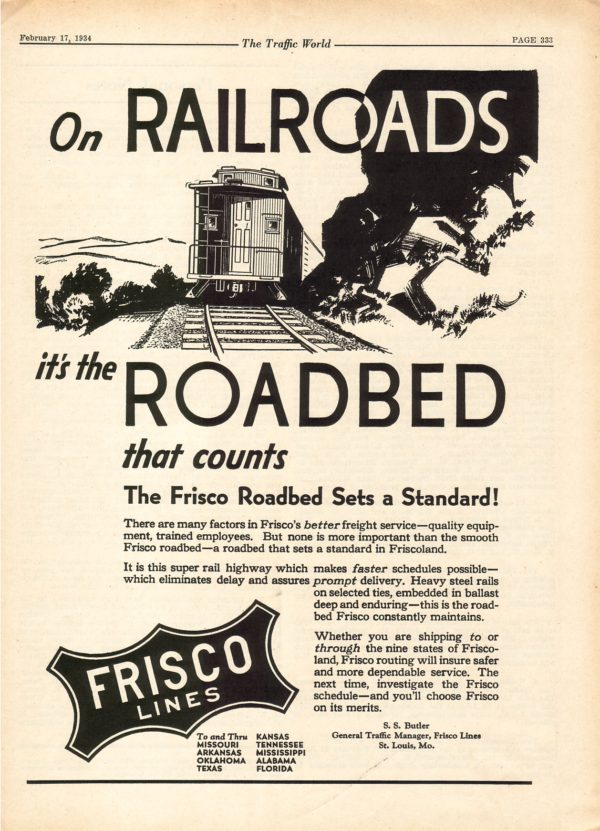 On Railroads, it's the Roadbed That Counts