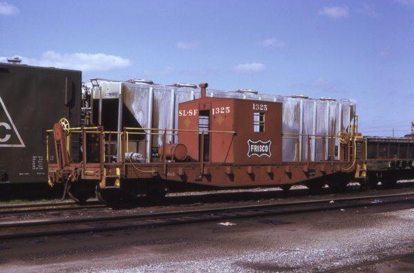 Transfer Caboose 1325 at Pensacola, Florida (date unknown) (EC Anderson)
