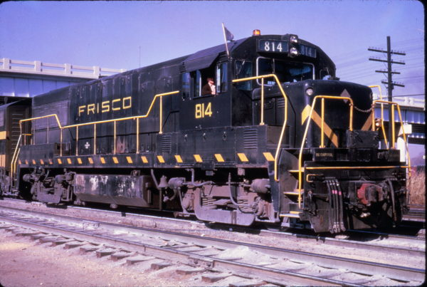U25B 814 at Memphis, Tennessee on December 8, 1965 (Al Chione)