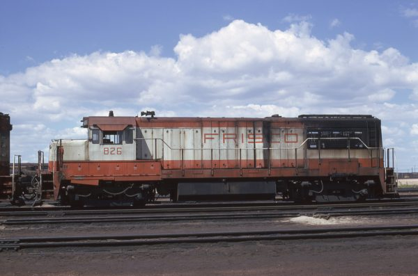 U25B 826 at North Platte, Nebraska on May 30, 1973 (K.E. Ardinger)