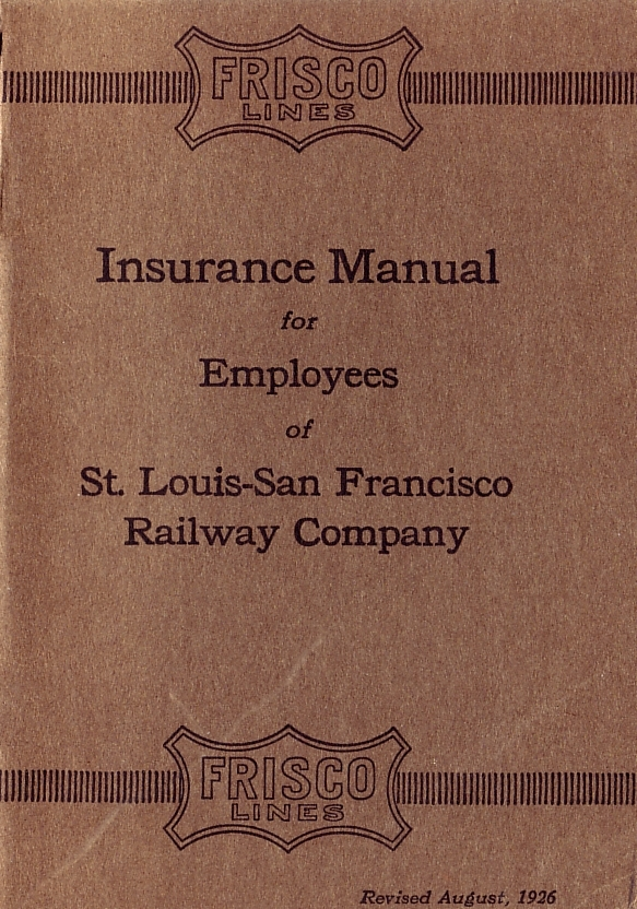 1926 Insurance Manual Cover