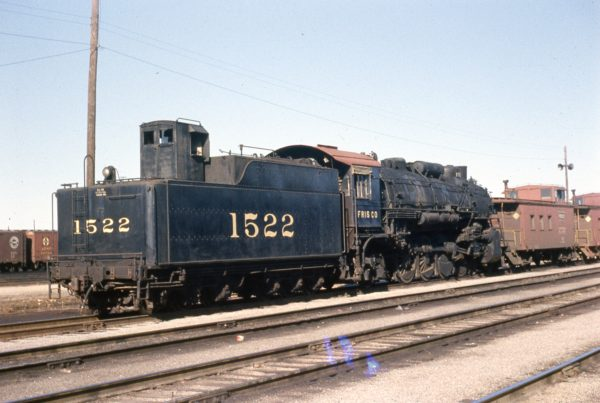 4-8-2 1522 at Springfield, Missouri on March 15, 1959
