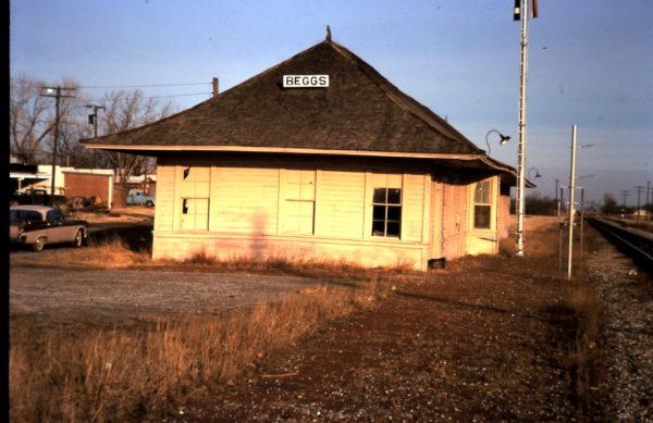 Beggs, Oklahoma Depot
