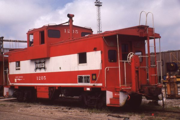 Caboose 1205 at Springfield, Missouri on September 14, 1978