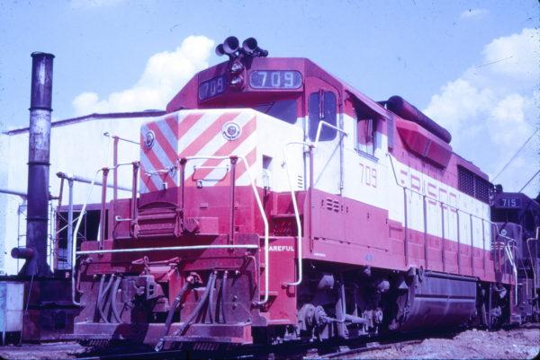 GP35 709 (date and location unknown) (Mac Owen - Blackhawk Films)