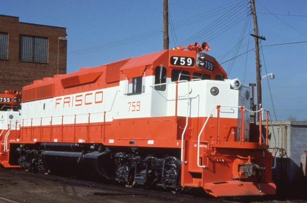 GP40-2 759 at St. Louis, Missouri on May 8, 1979