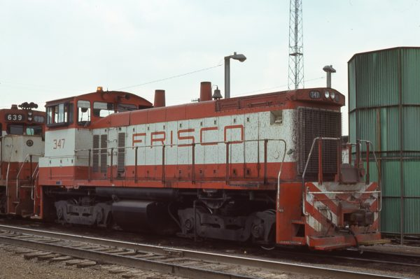 SW1500 347 at Springfield, Missouri October 9, 1976