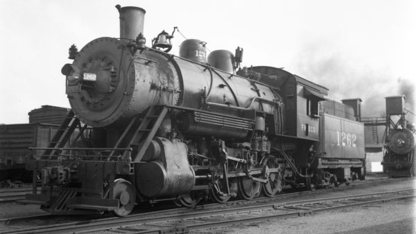 2-8-0 1262 at Tulsa, Oklahoma (date unknown)