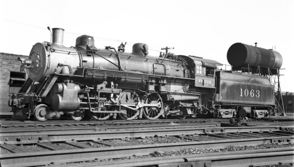 4-6-2 1063 at Lindenwood Yard, St. Louis, Missouri on July 5, 1937 (Ivan W. Oaks)