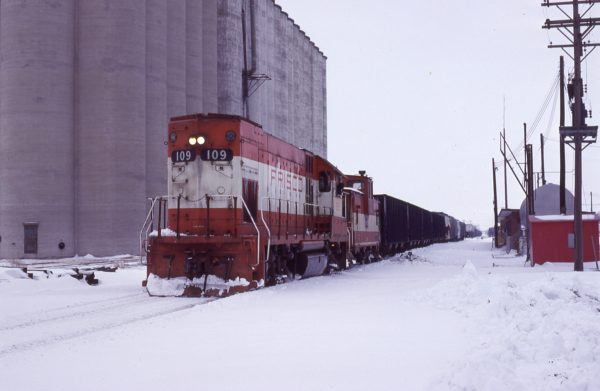GP15-1 109 at Wichita, Kansas on February 7, 1980 (G.L. Garrels)