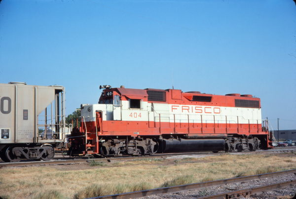 GP38-2 404 (location unknown) in July 1977