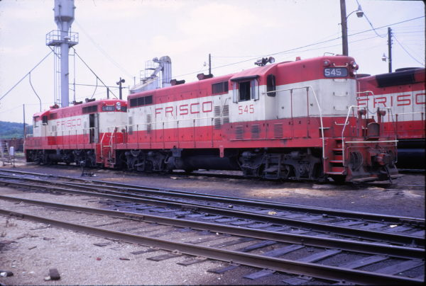 GP7s 545 and 549 (location unknown) in June 1969 (G. Bolinsky)