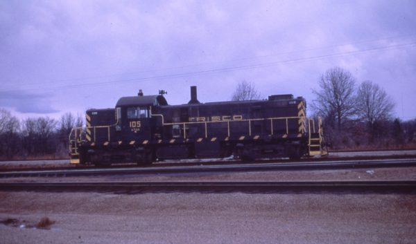RS-1 105 at Memphis, Tennessee on March 8, 1969