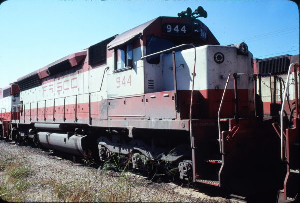 SD45 944 at Forth Worth, Texas in November 1978