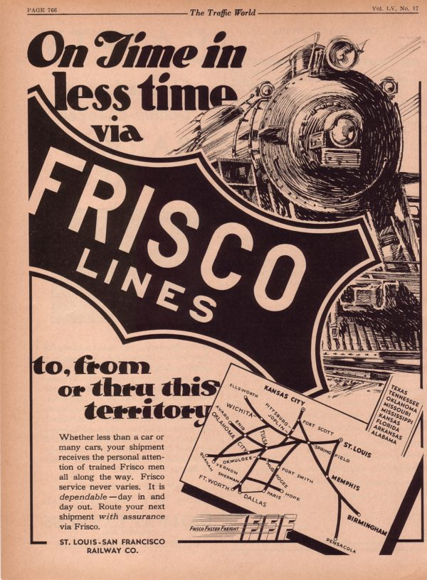 On Time in Less Time Via Frisco