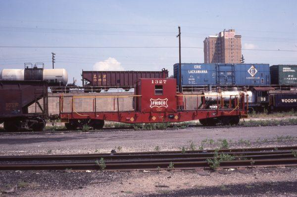 Transfer Caboose 1327 Birmingham, Al in July 1977