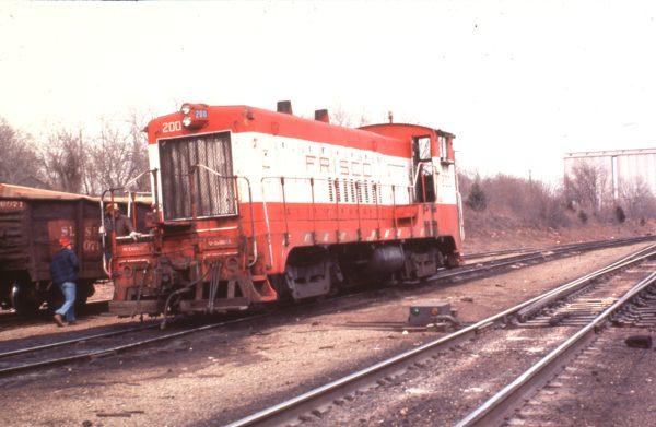 VO1000 200 at Springfield, Missouri in 1979 (C.R. Scholes)
