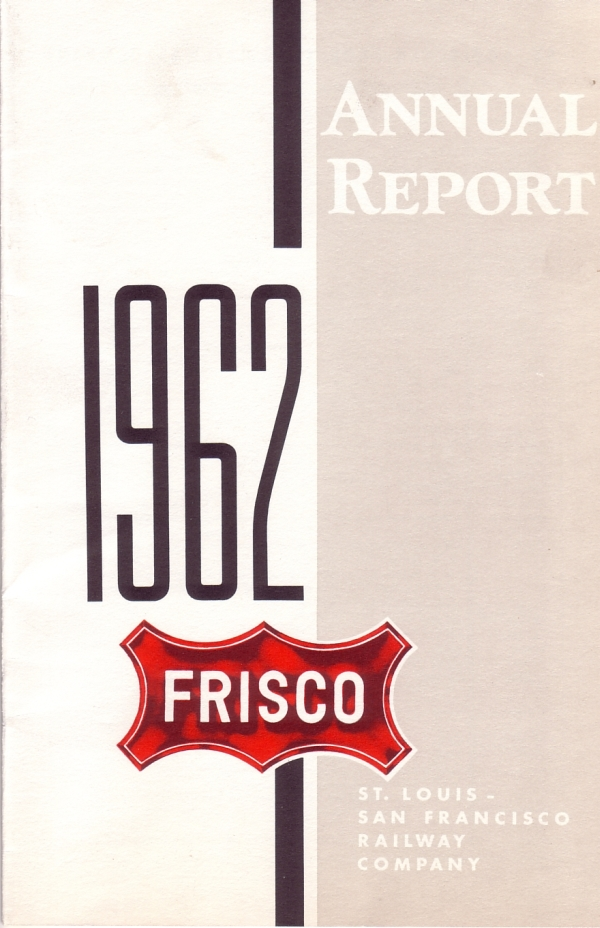 1962 Frisco Annual Report Cover