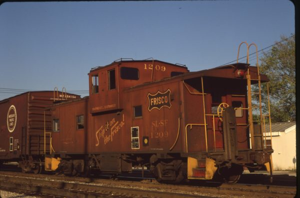 Caboose 1209 at Ft. Scott, Kansas on September 20, 1980 (Norm Metcalf)