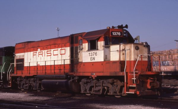 GP15-1 1376 (Frisco 101) at St. Louis, Missouri on June 28, 1981 (M.A. Wise)
