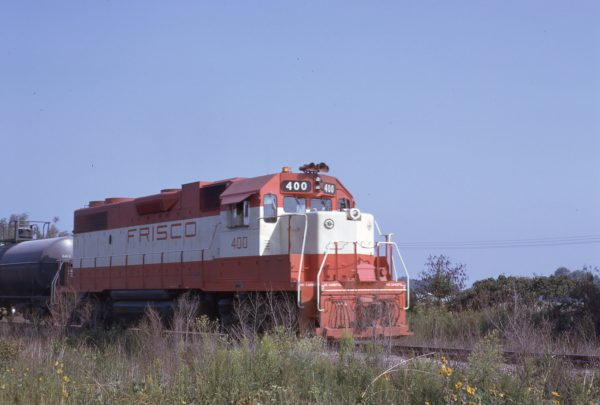 GP38-2 400 at Carthage, Missouri in September 1973 (Jim Wilson)