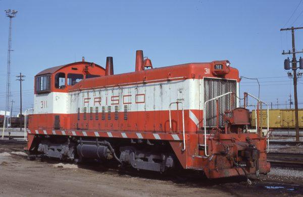 SW9 311 at Memphis, Tennessee in January 1981 (Lon Coone)