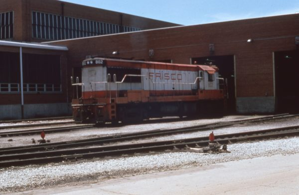 U25B 802 at Springfield, Missouri in July 1975 (C.D. Baker)