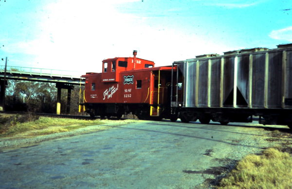 Caboose 1212 (date and location unknown)