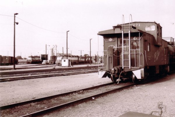 Caboose 1271 at Oklahoma City, Oklahoma (date unknown)