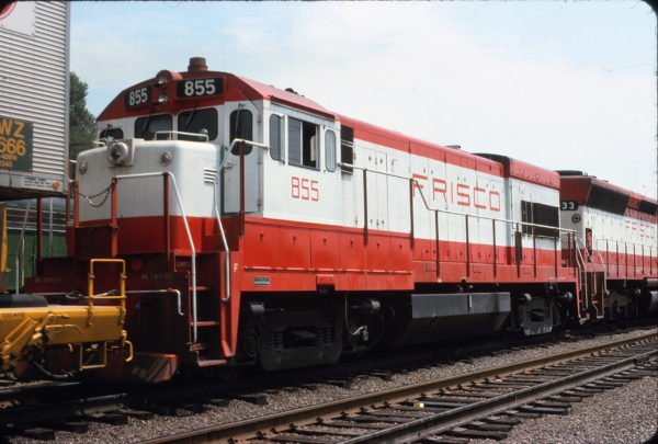 U30B 855 at Cheyenne, Wyoming in July 1975