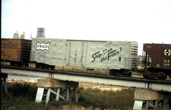 Boxcar 12038 (date unknown) at Tulsa, Oklahoma