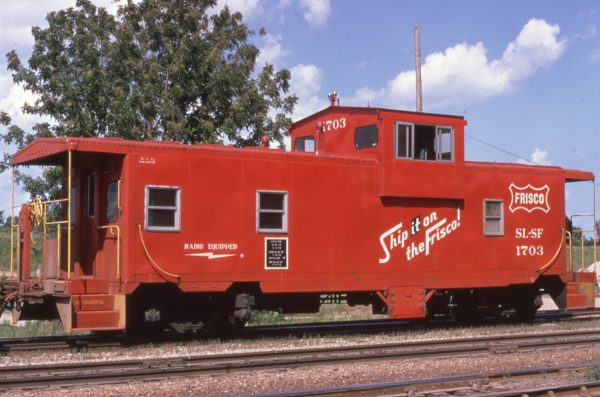Caboose 1703 (date and location unknown)