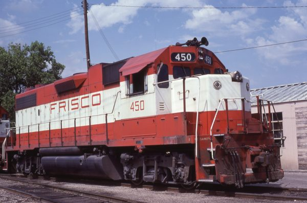 GP38-2 450 at Fort Worth, Texas in May 18, 1980 (Bill Phillips)