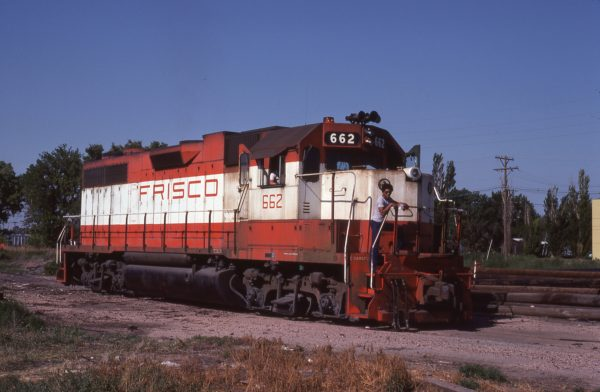GP38AC 662 at Salina, Kansas on July 29., 1978 (Doug Edwards)