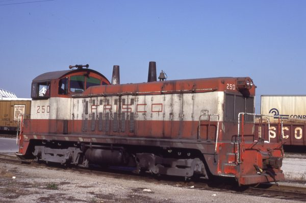 NW2 250 at Kansas City, Missouri on April 19, 1980 (J.C. Benson)