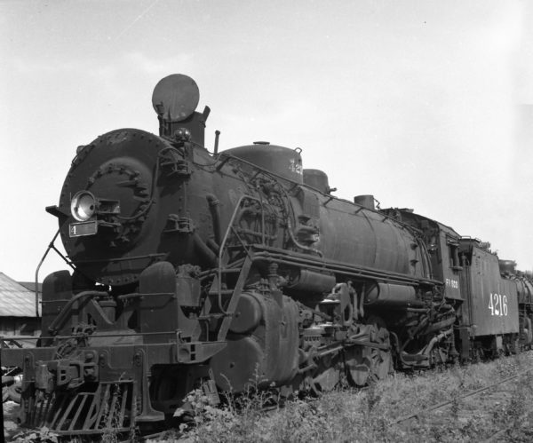 2-8-2 4216 at Memphis, Tennessee (date unknown)