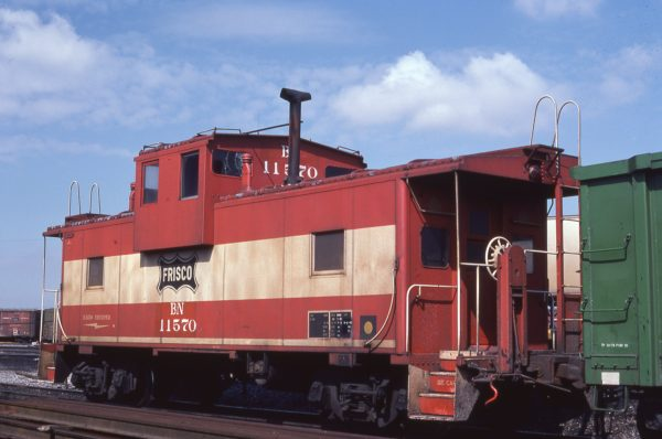 Caboose 11570 (Frisco 1242) at Cicero, Illinois on March 22, 1982 (G. Allbach)